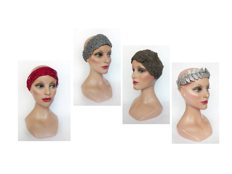 Headband wedding 2020 silver bridal headband ceremonial image 0