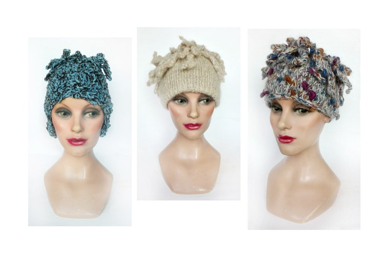 Woman fashion wool ski Hat women winter hat beanie Hat wool image 0
