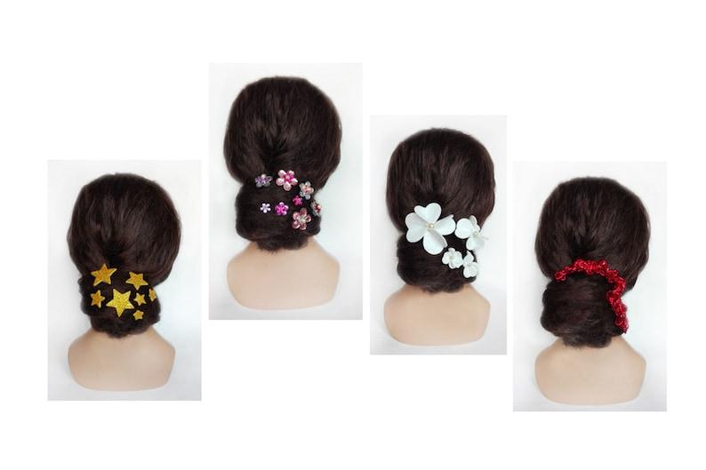 Hair pin maid of honor bridal hair jewelry wedding fascinator image 0