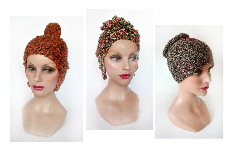 Women's cap pop Iroquois wool beanie hides child fancy image 0