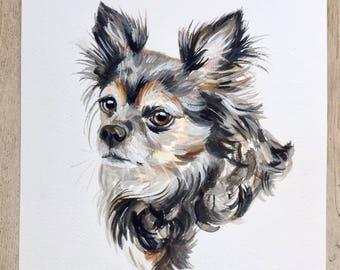 PET PORTRAIT, Custom pet portrait, dog portrait, custom dog portrait, custom pet painting,  dog drawing, dog memorial, custom, dog portrait