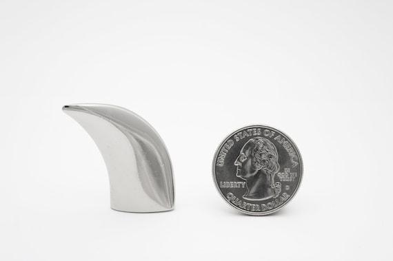 1-14 Leathercraft or glue-on StudsAndSpikes Single spike Eagle Claw Spike 34mm