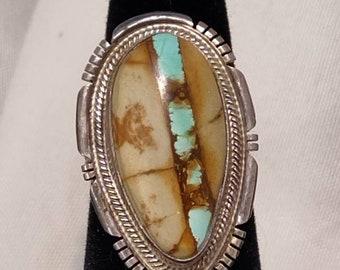 K. Nez Royston Ribbon Turquoise ring