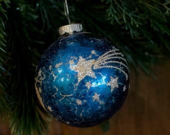 1 Antique shooting star Christmas Ornaments Christmas Decorations vintage Christmas decor Vintage Christmas Tree Ornaments