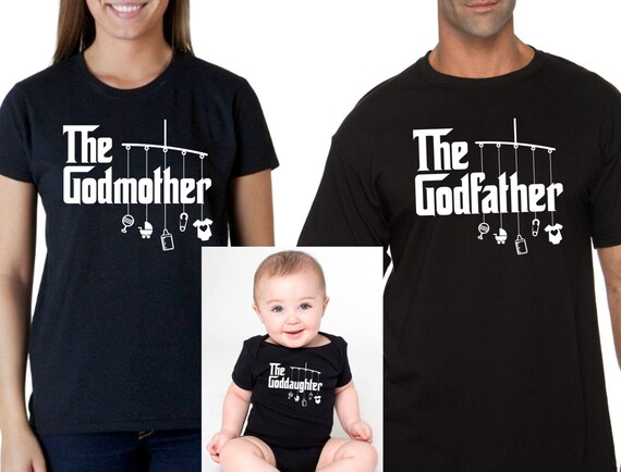 So Relative Unisex Baby My Godmother Loves Me T-Shirt Romper
