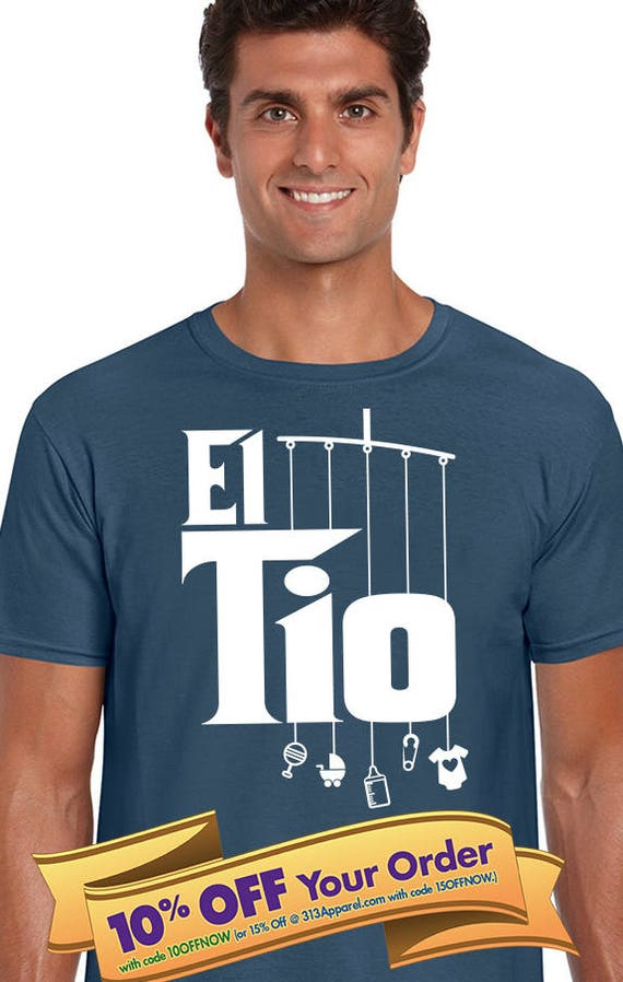el tio uncle shirt with mobile toys niece aunt or nephew etsy