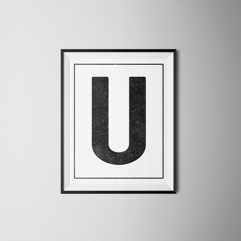 picture regarding Letter U Printable titled Immediate Down load Letter \
