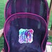 Jasmine Leger reviewed Mesh Backpack with Floral Monogram Pink Purple
