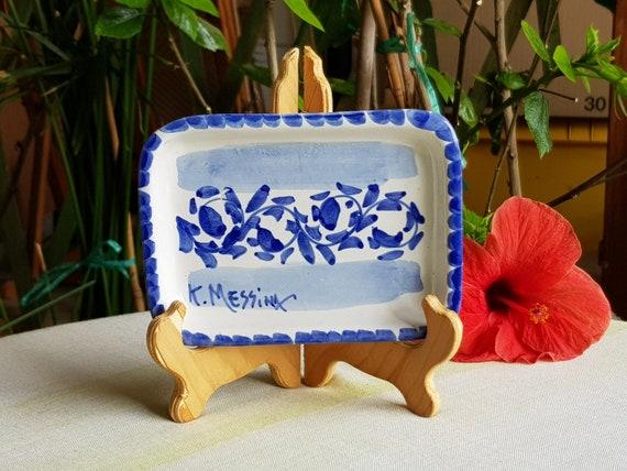 Portasapone in ceramica siciliana piattino portasapone in etsy