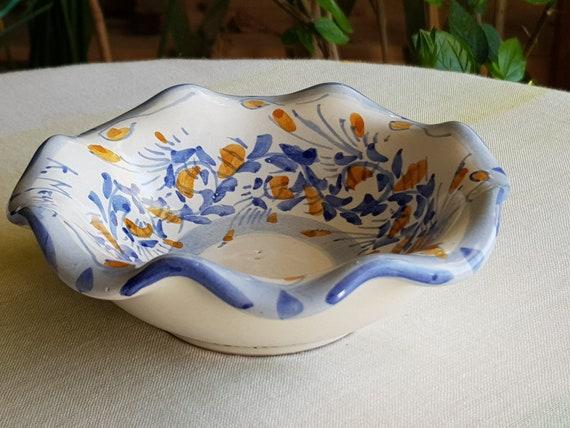 Ciotola in ceramica siciliana fatta a mano portagioie di etsy