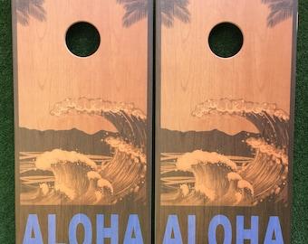 Wedding Cornhole Game by Colorado Joes Aloha