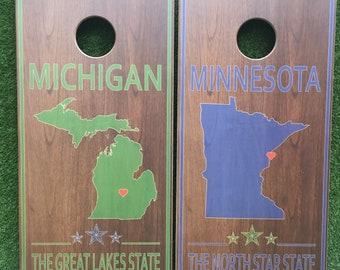 Cornhole Game by ColoradoJoes Minnesota and Michigan