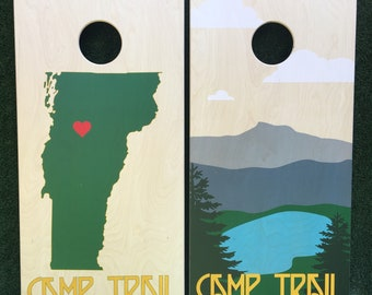 Cornhole Game by ColoradoJoes Your Camp or Lakehouse