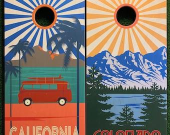 Cornhole Game by ColoradoJoes Colorado and California Sunburst