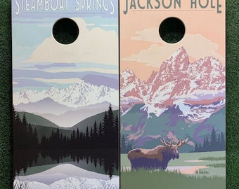 Cornhole Game by ColoradoJoes Steamboat Springs and Grand Tetons
