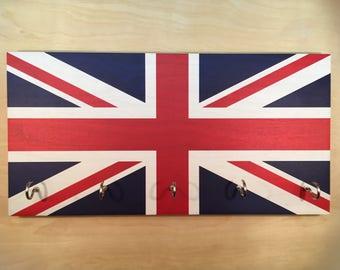 Union Jack Flag Key Holder