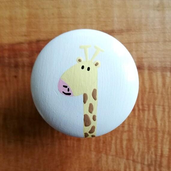 Boutons De Tiroir Girafe Pour Commode Boutons De Commode Etsy