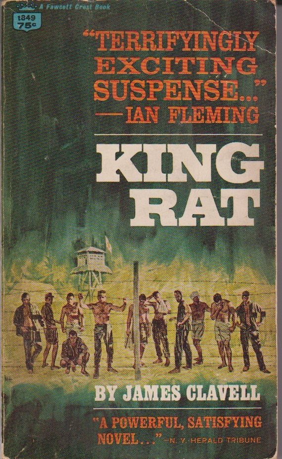 Vintage edition of King Rat a book by James Clavell | Etsy