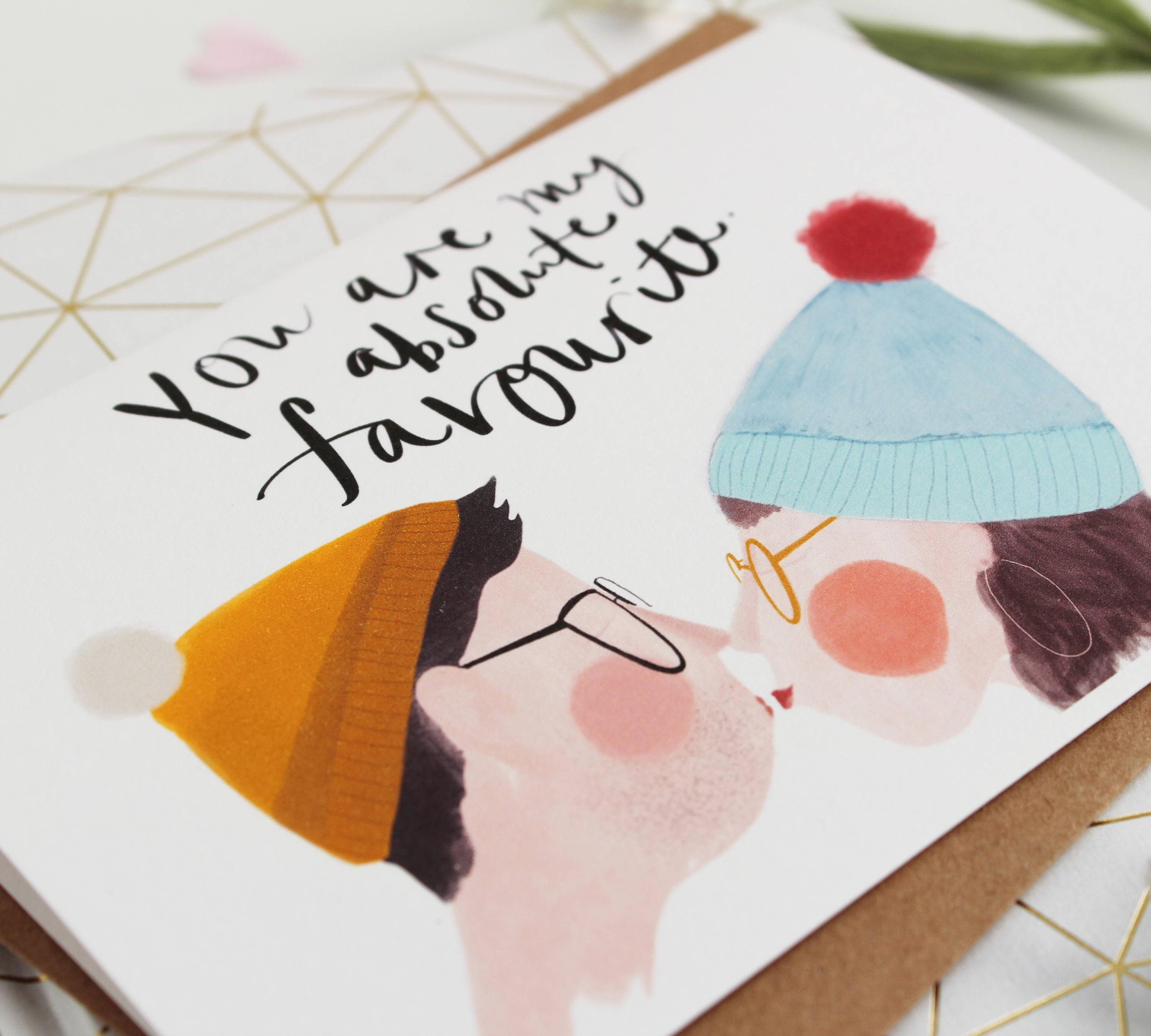 Will You Hug Me // Funny Valentine Card for Her // Quirky