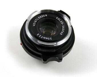 Voigtlander Color Scopar f2.5 35mm M-Mount Camera Lens #9510690 Made in Japan Leica M Mount Lens Used Leica Lens