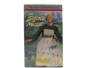 Vintage Sound of Music VHS Tape Sound of Music Video Tape