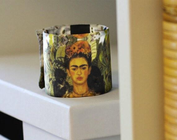 Art deco bracelet, 100% silk, handmade in Lyon, High quality, Made In France.