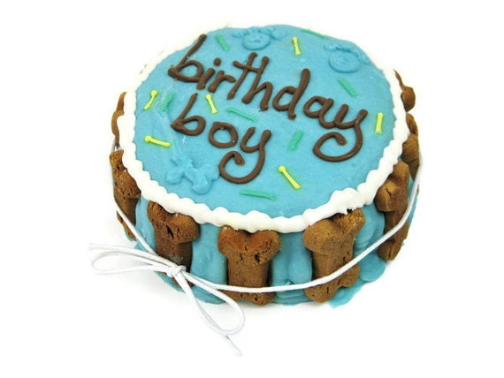 Dog Birthday Cake Boy Dogs 1st