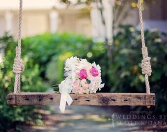 Reclaimed Wooden Swing