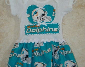 finest selection 16a86 ea521 Miami dolphins baby | Etsy