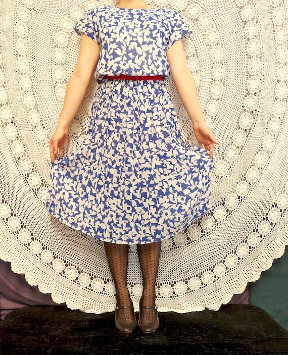 1980's Day Dress - Nana / City / Work Frock - Cit… - image 5