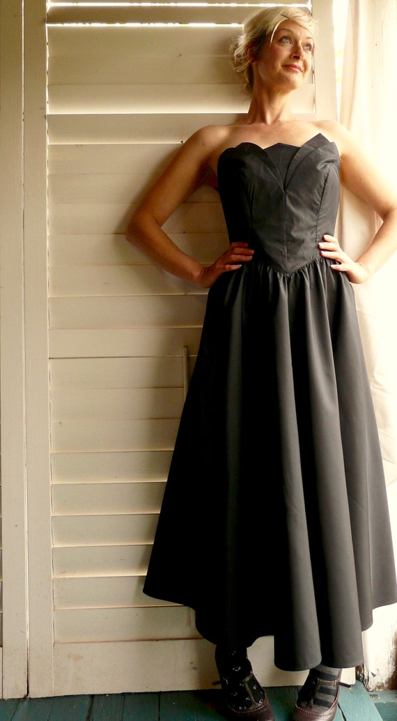SALE! 1980/'s Ball Gown Disco Party Dress Karina Sydney