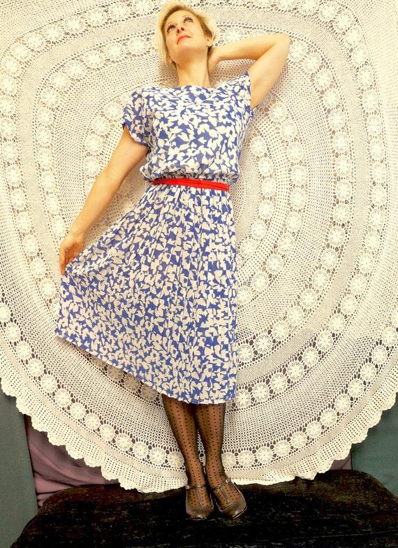 1980's Day Dress - Nana / City / Work Frock - Cit… - image 2