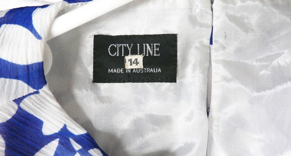 1980's Day Dress - Nana / City / Work Frock - Cit… - image 8