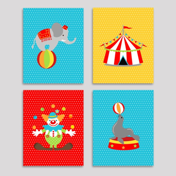 Zirkuszelt Kinderzimmer | Zirkus Kinderzimmer Kunst Jungen Zimmer Dekor Etsy
