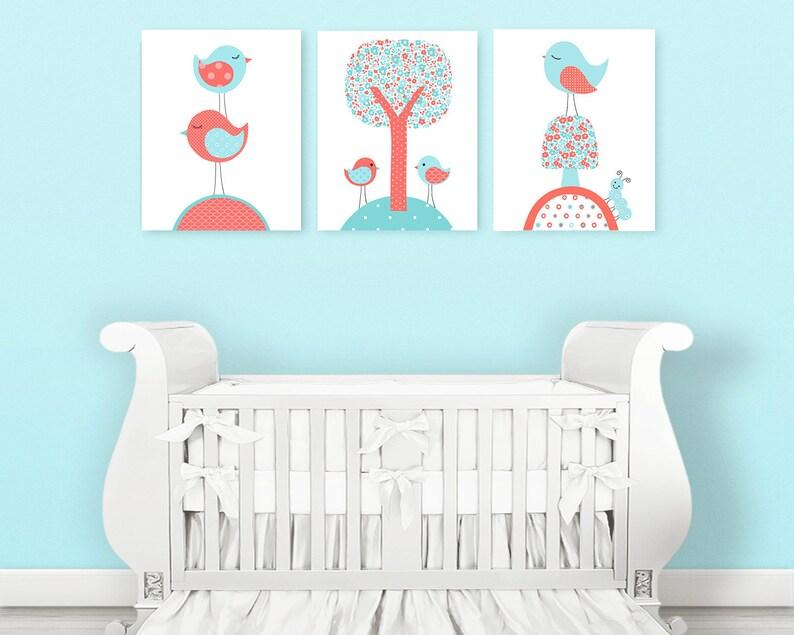 Kinderzimmer Vogel Kinderzimmer Baby-Raum-Dekor | Etsy