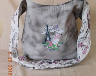 f076b7a86cfa Poodle in Paris Hobo Bag