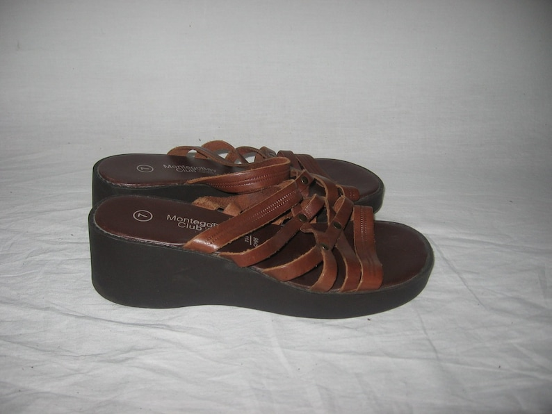 b064210d2 VTG Montego Bay Club Leather Collection Made Brazil Quality