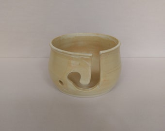 YARN BOWL - Rusty Bronze Standard Cut - Hand Made Ceramic #802
