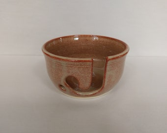 YARN BOWL - Albany Slip Brown - Hand Made Ceramic #736