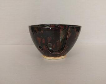 YARN BOWL - Ultramarine Jewel Standard Cut - Hand Made Ceramic #788