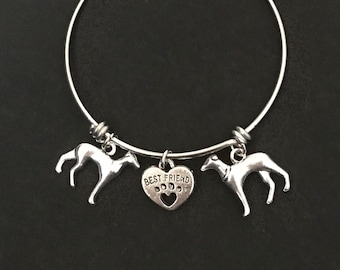 Greyhound Bangle Greyhound Bracelet Greyhound Jewelry