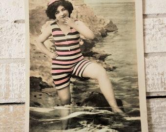 Ouderwets Badpak Dames.1920 Badpak Etsy