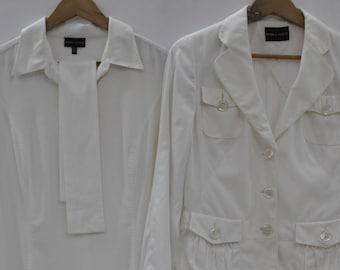5440125a90a431 Jahrgang RENA LANGE weiße Damen-Kleid, Anzug, Designer-Anzug... (383)