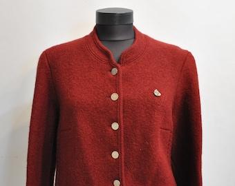 Giacca vintage GIESSWEIN pura lana donna 9305702e019
