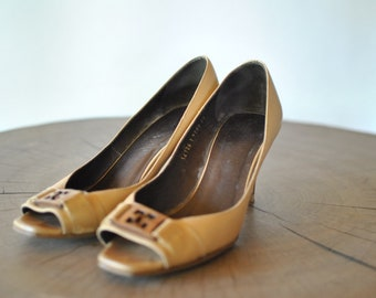 2df65cdad66be Escada shoes   Etsy