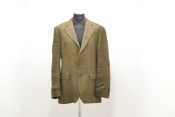 Vintage H. Boss men's linen blazer , linen jacket