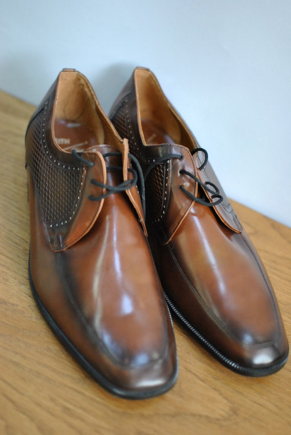 en Vintage cuir haut FEITH Chaussures derni 7qvxS0w