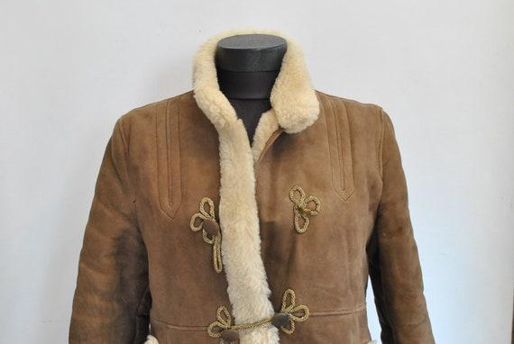 Vintage LAMBSKIN WOMEN'S PARKA , women's coat.....