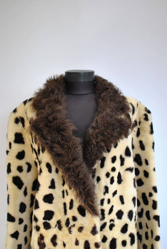 winter LAMB 517 coat FUR PRINTED women's Vintage xnZaw0qRfR