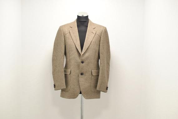 Vintage Men's wool winter blazer , casual men's bl